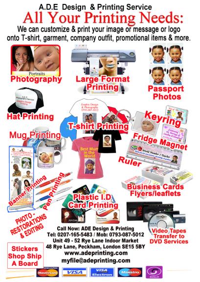 mug printing, fridge magnet, keyrings, pen printing, Plaque printing, passport photo, stickers, shop sign, A board, pavement sign,